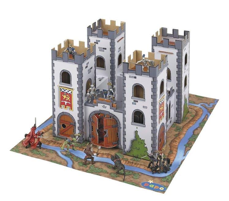 3-5 ans: château médiéval