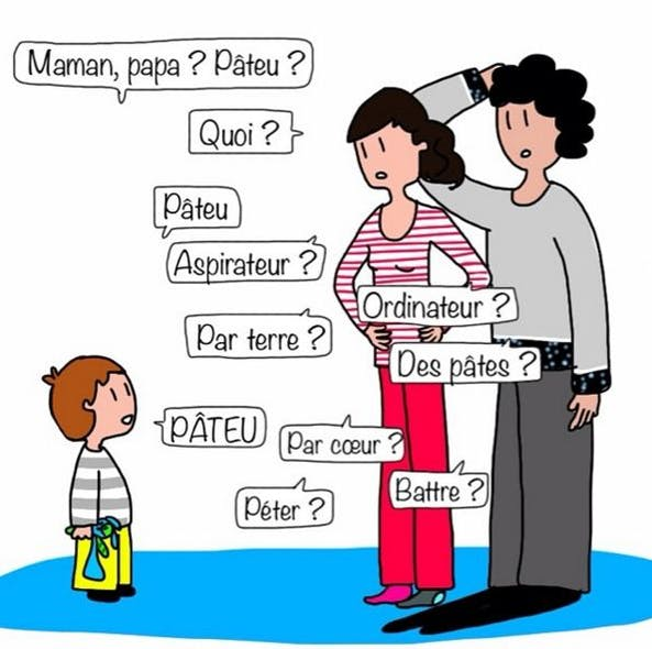 Le dialecte incompréhensible de bébé