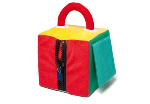 Maxi cube d'activités tissu