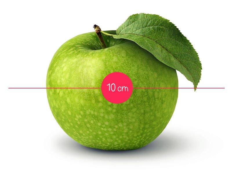 Semaine 12 : une petite pomme