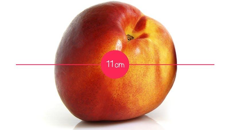 Semaine 13 : une nectarine