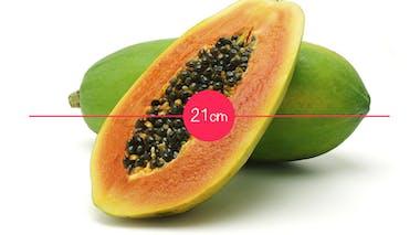 Semaine 22 : une papaye