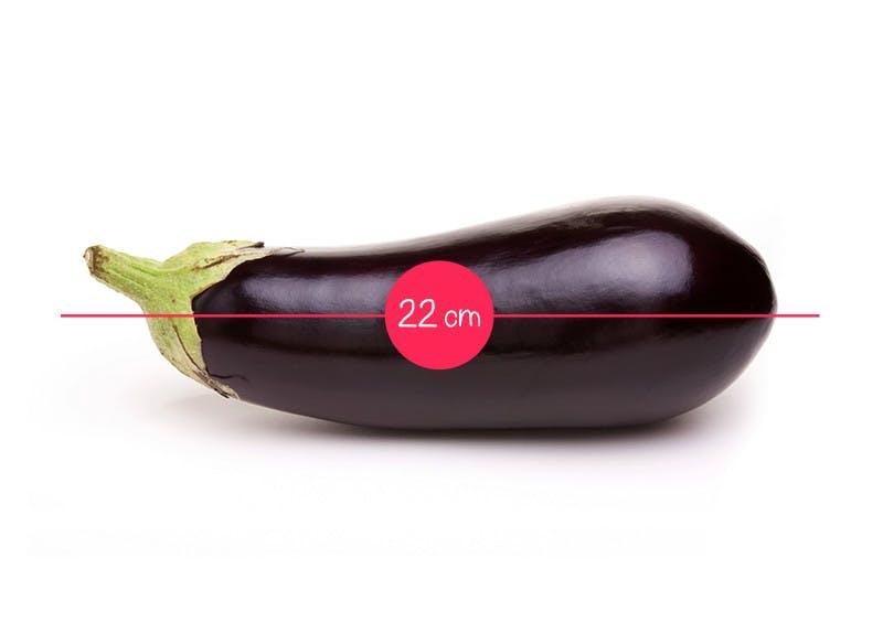 Semaine 23 : une aubergine