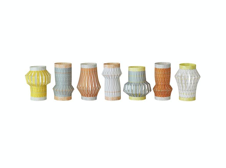 Lanternes multicolores
