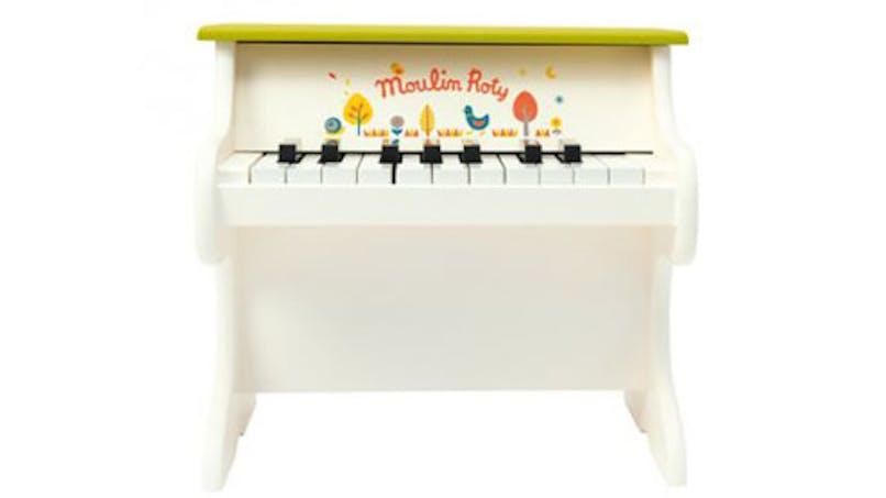 Piano vert et crème