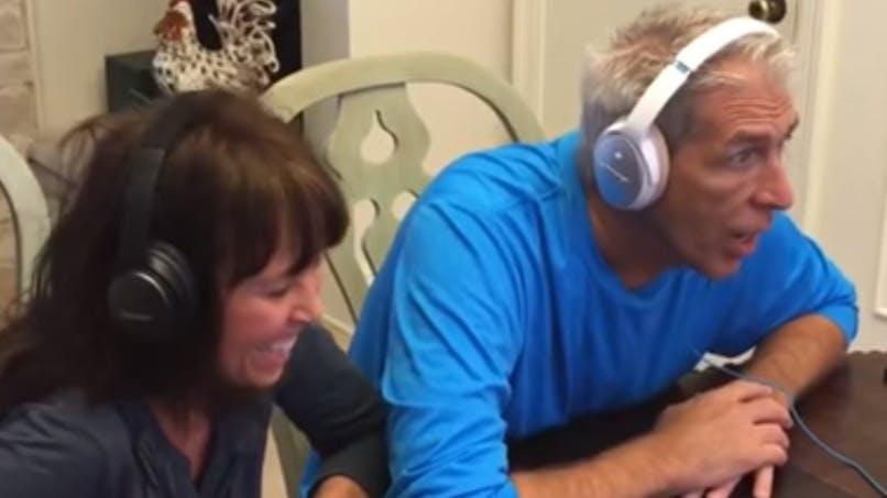 Vidéo : elle annonce sa grossesse à ses parents avec un   jeu original