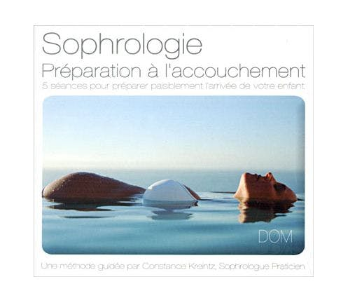 CD de préparation à l'accouchement avec la         sophrologie