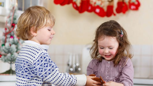 Repas de Noël pour les enfants