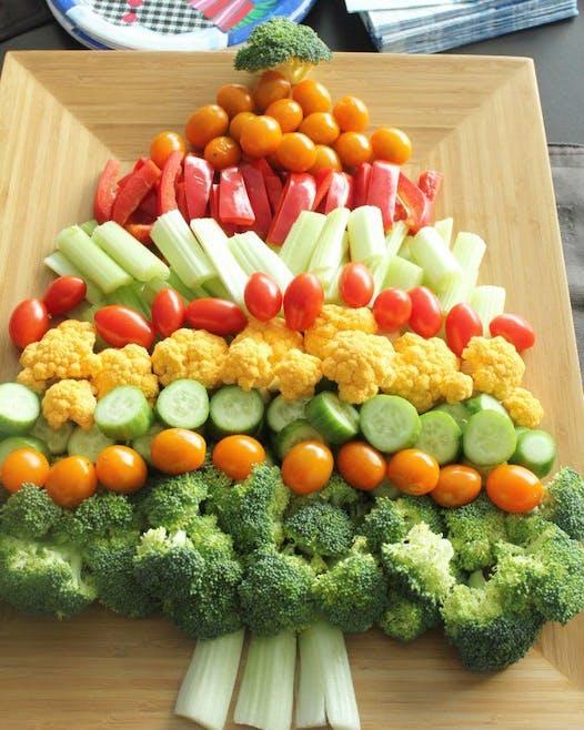 Sapin en légumes