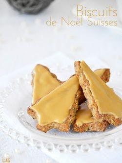 Biscuits de Noël suisse