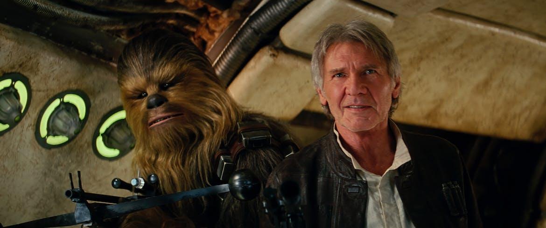 Chewbacca et Han Solo