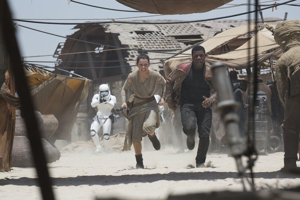 Rey et Finn
