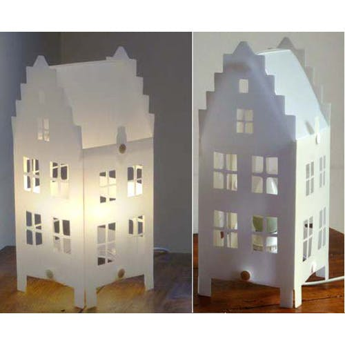 Lampe maison flamande