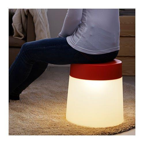 Lampe tabouret