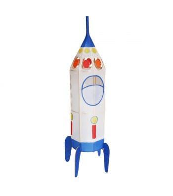 Lampion fusée