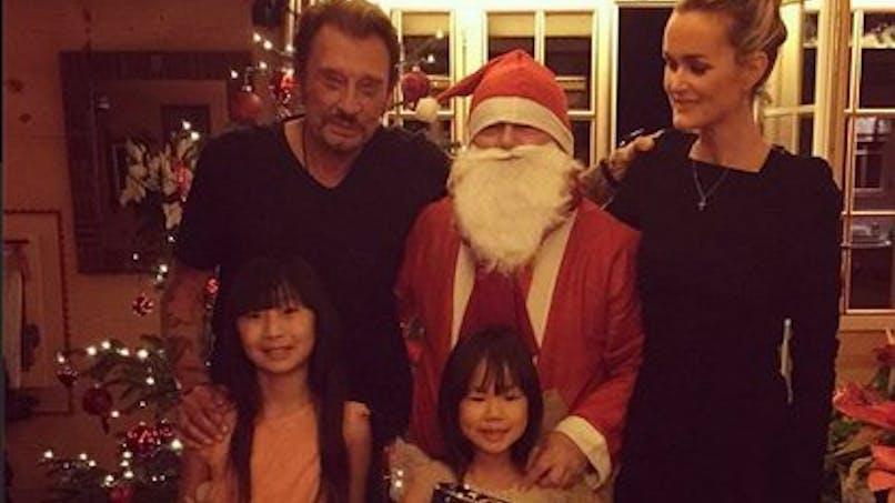 Noël 2014 : les stars fêtent le réveillon en   famille