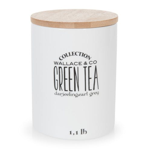 Bocal en faïence Green Tea