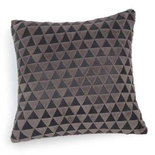 Coussin motifs triangle Chaleur