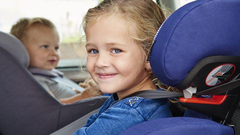 Sécurité auto : 2 enfants sur 3 mal installés en voiture   !