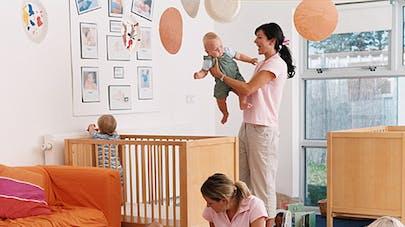 La crèche, un mode de garde important pour le   développement de l'enfant