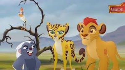 La garde du roi lion-Disney Junior
