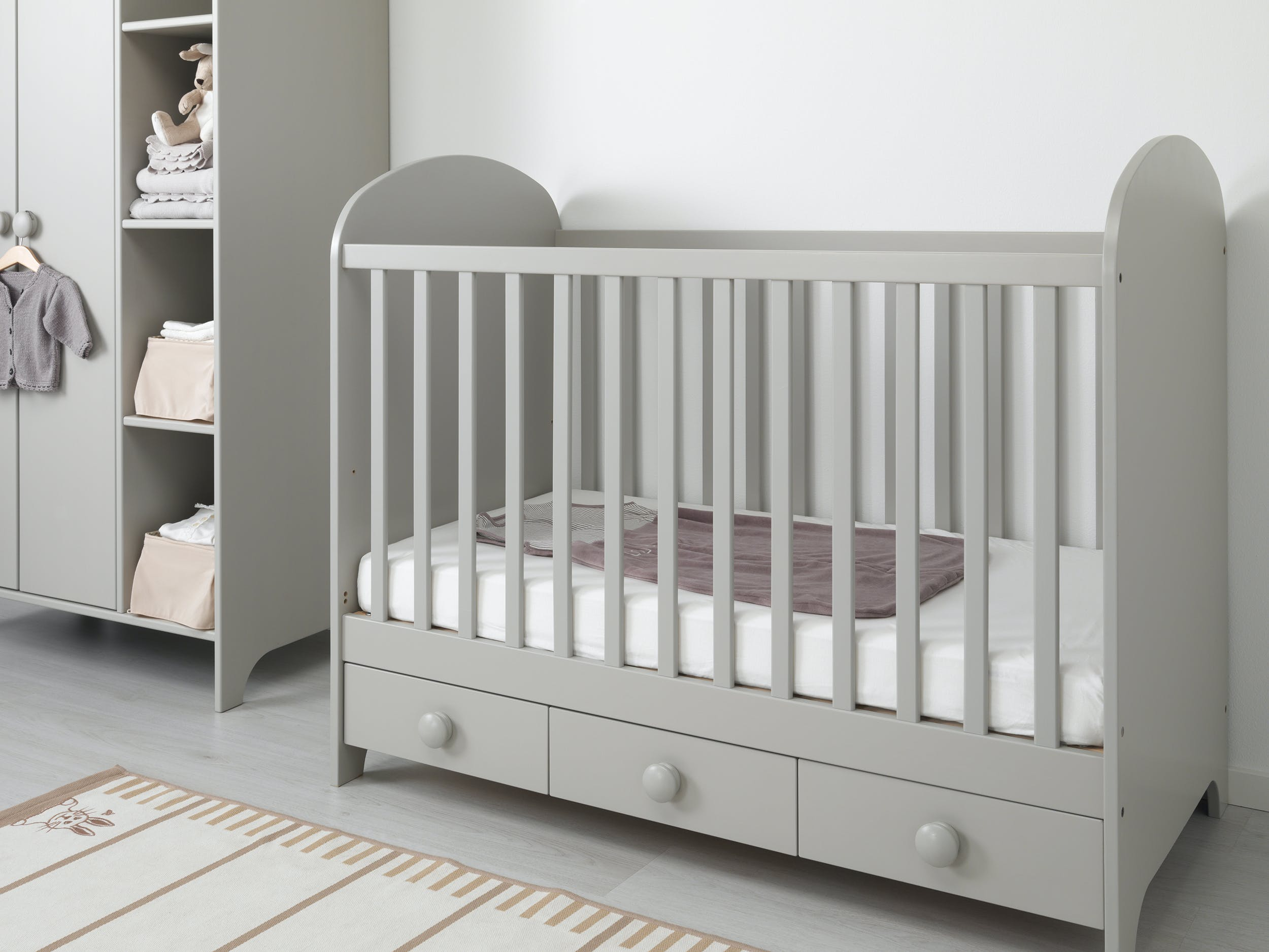 armoire bebe grise ikea