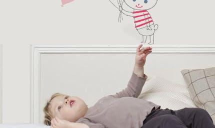 20 stickers sympas pour une chambre d'enfants