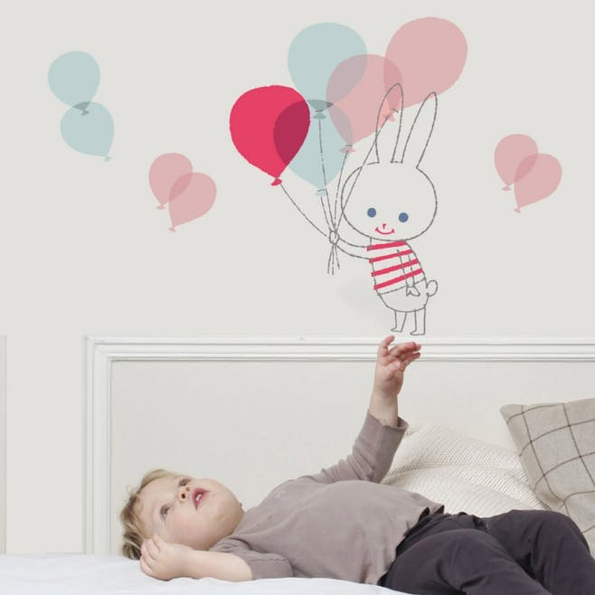Sticker « Balloon Rabbit »