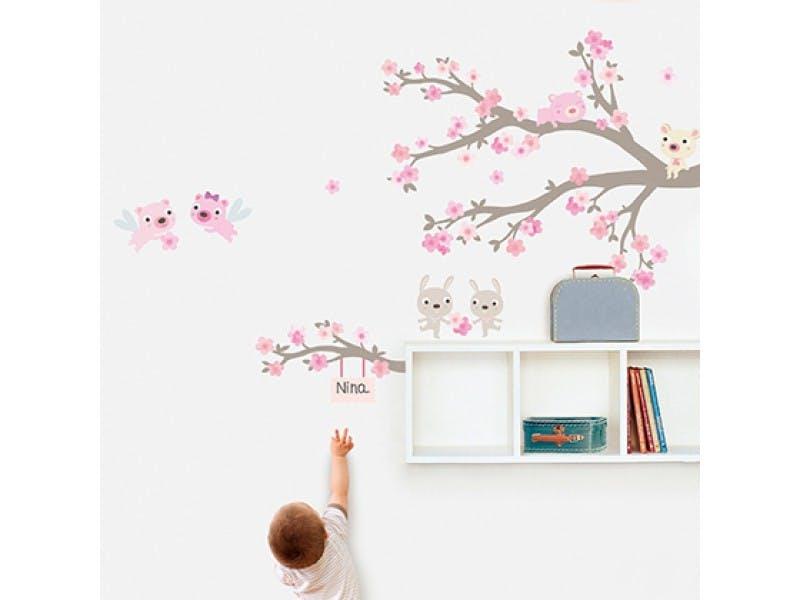 Sticker « Branche en fleurs »
