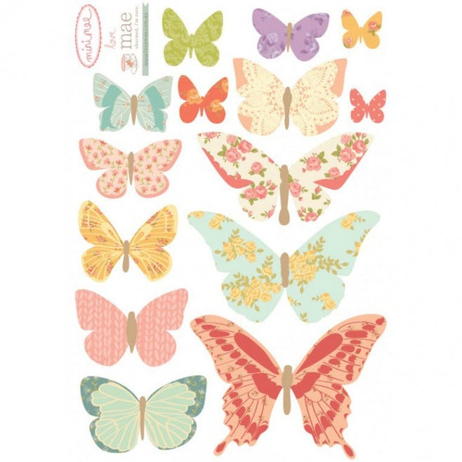 Sticker « Butterflies girly »