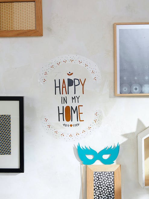 Sticker « Happy in my Home »
