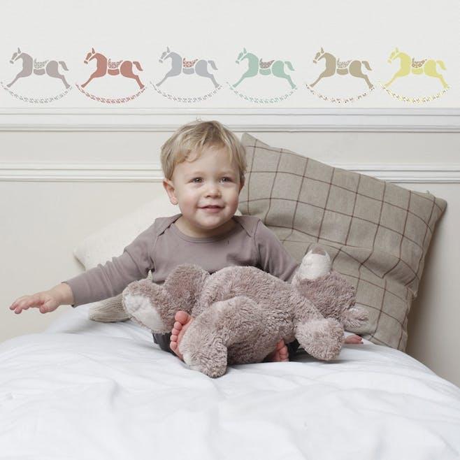 Sticker « Petits chevaux de bois »