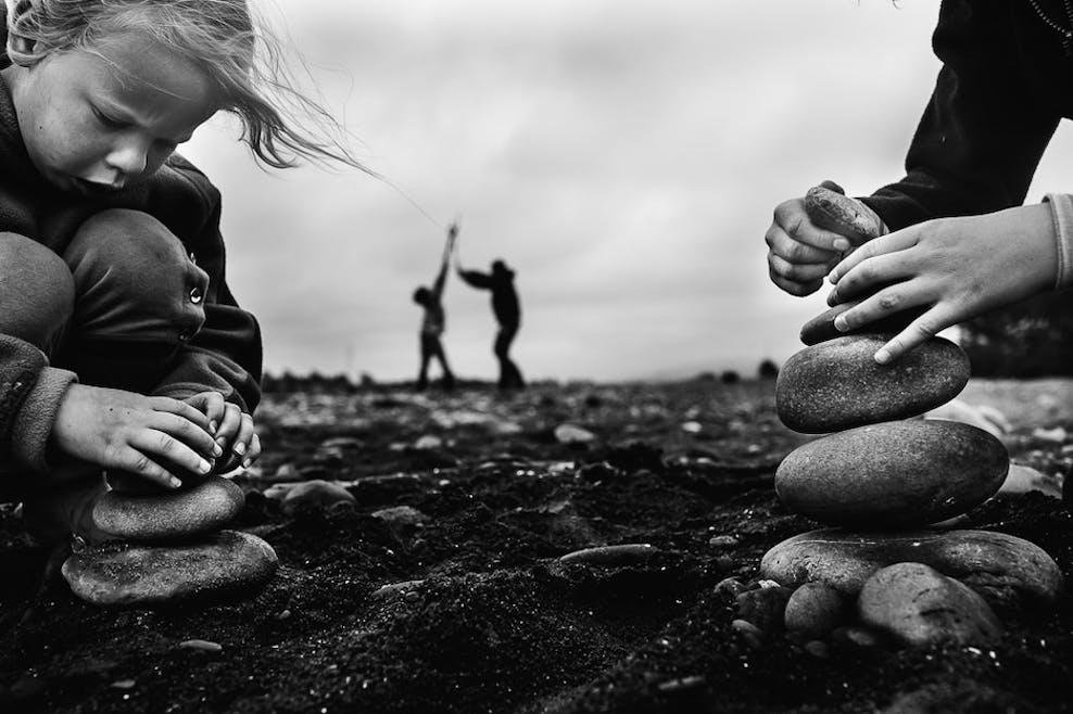 Entasser des pierres