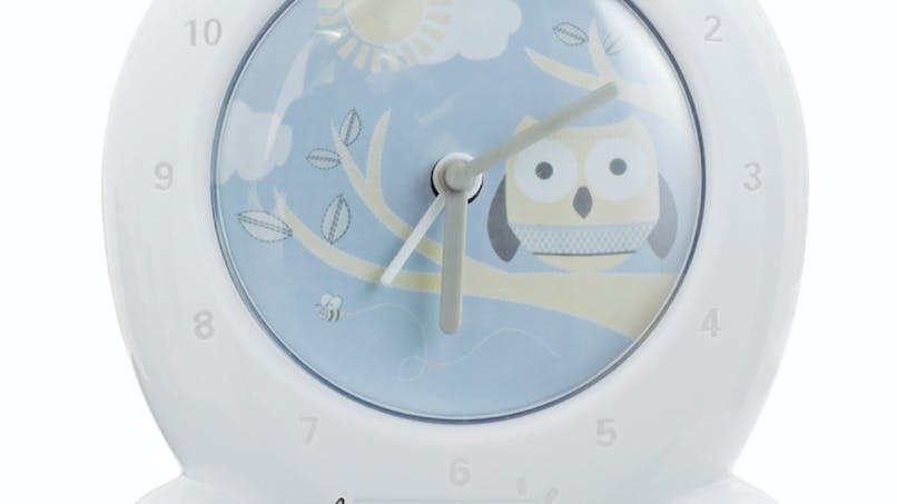 GO GLOW CLOCK – Chouette endormie de ROOM STUDIO