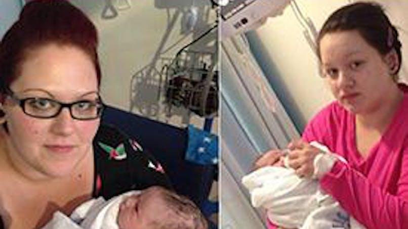 Angleterre : elle est maman à 14 ans et sa mère devient   grand-mère à 31 ans !