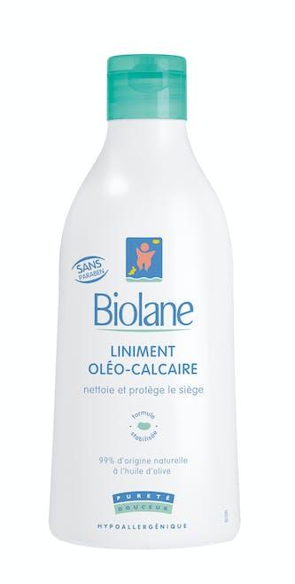Pour le change : Liniment Oléo-Calcaire, Biolane