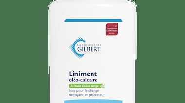 Pour le change : Liniment Oléo-Calcaire, Laboratoires         Gilbert Bébé