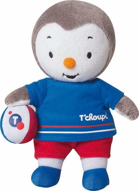 Peluche T'Choupi spécial Euro 2016