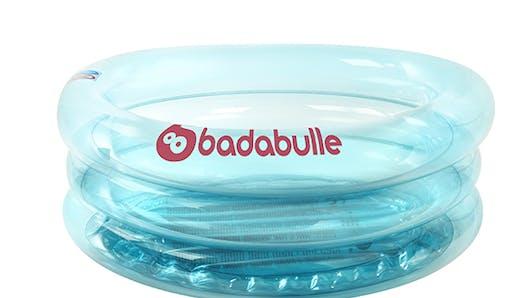 Une mini-piscine, Baignoire gonflable Lagon  Badabulle