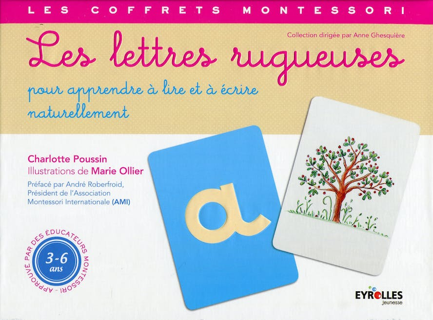 Les lettres rugueuses