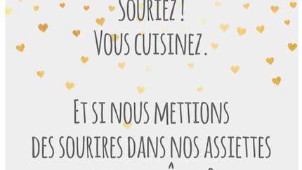 """""""Nos 10 minutes enchantées"""" pour… Mettre des sourires dans   l'assiette"""