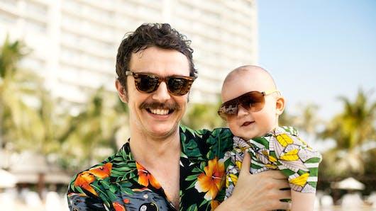 Papa-bébé : une relation qui se construit chaque  jour