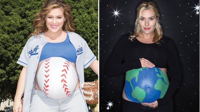Un livre de photos célèbre le ventre des femmes enceintes…   pour la bonne cause
