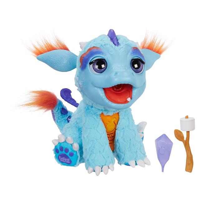 Dragon cracheur de feu Torch Hasbro, 99,99 €. Dès 4         ans.