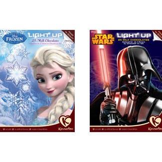 Le calendrier de l'Avent lumineux Reine des Neiges -         Calendrier lumineux Star Wars / ZETAR