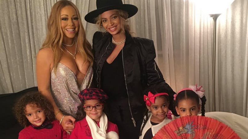La fille de Beyoncé copine avec les jumeaux de Mariah   Carey (PHOTO)