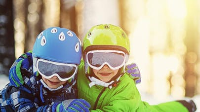 Vacances au ski: protégez les yeux des   enfants