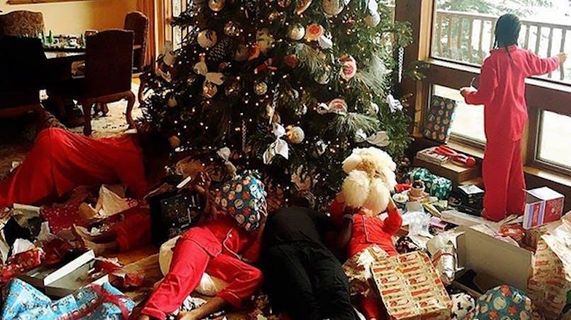 Les stars fêtent Noël en famille