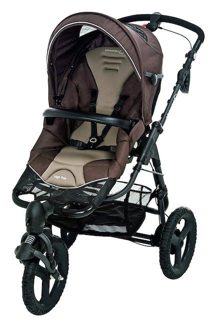 Poussette 3 roues tout-terrain High Trek de Bébé Confort - marron brown