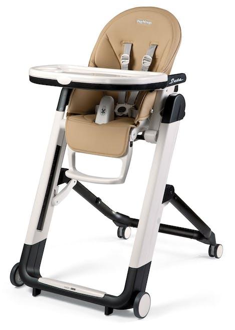 Chaise haute Siesta de Peg-Pérego - beige